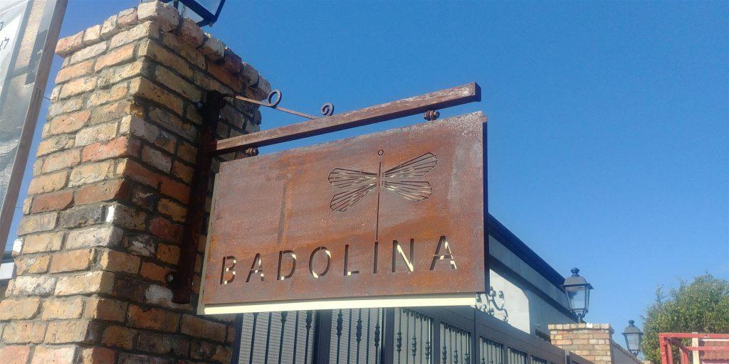 שלטי פח לחברת Badolina